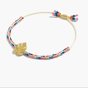 Madewell beaded slider bracelet